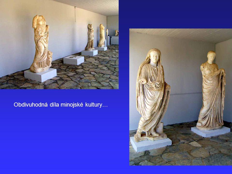 Obdivuhodná díla minojské kultury…