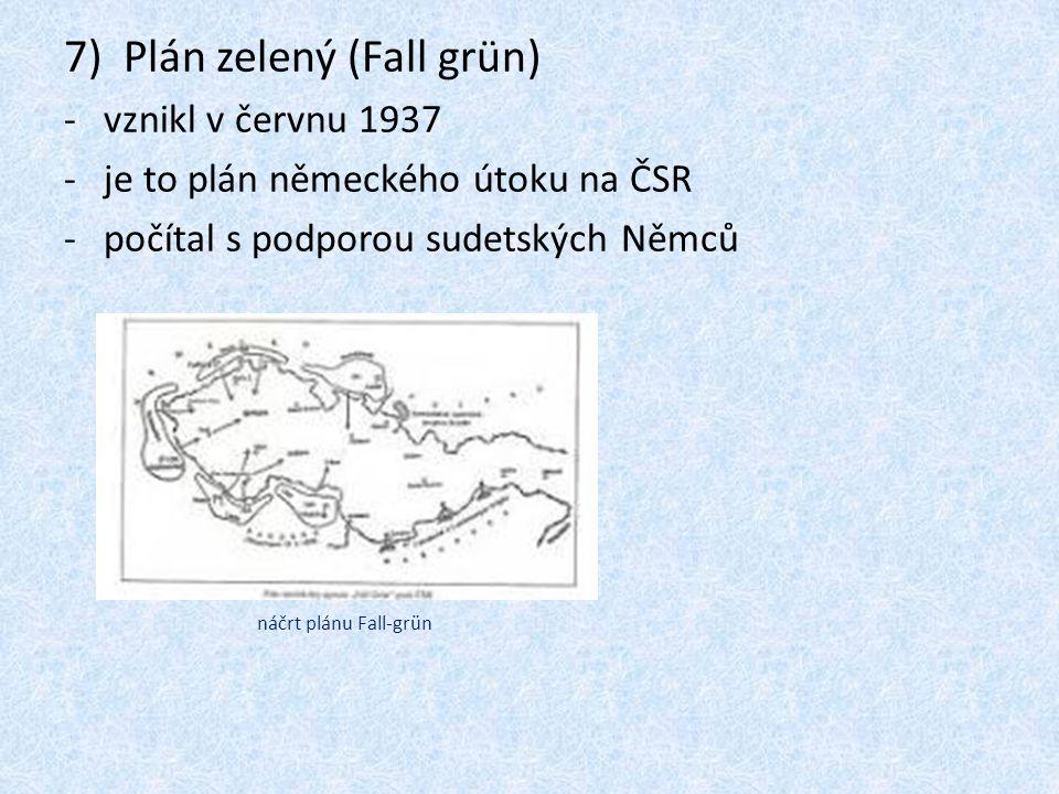 Plán zelený (Fall grün)