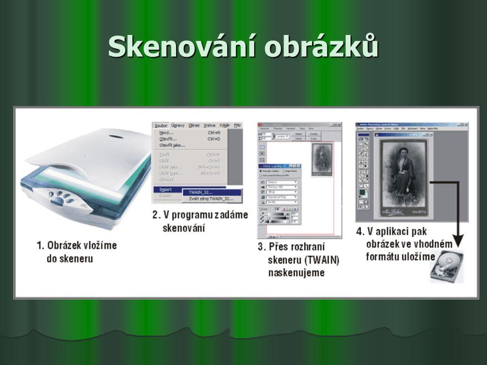 Skenování obrázků