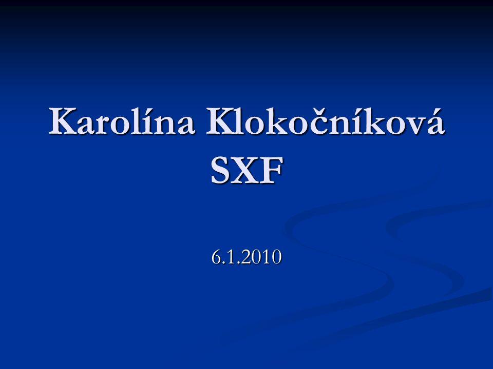 Karolína Klokočníková SXF