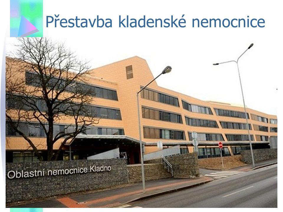 Přestavba kladenské nemocnice
