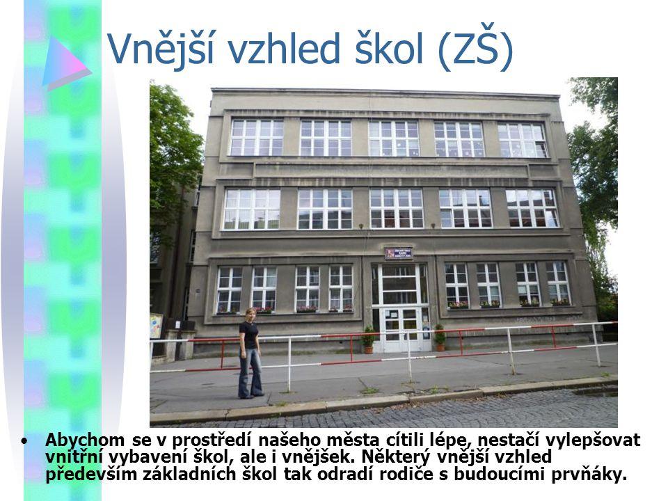Vnější vzhled škol (ZŠ)