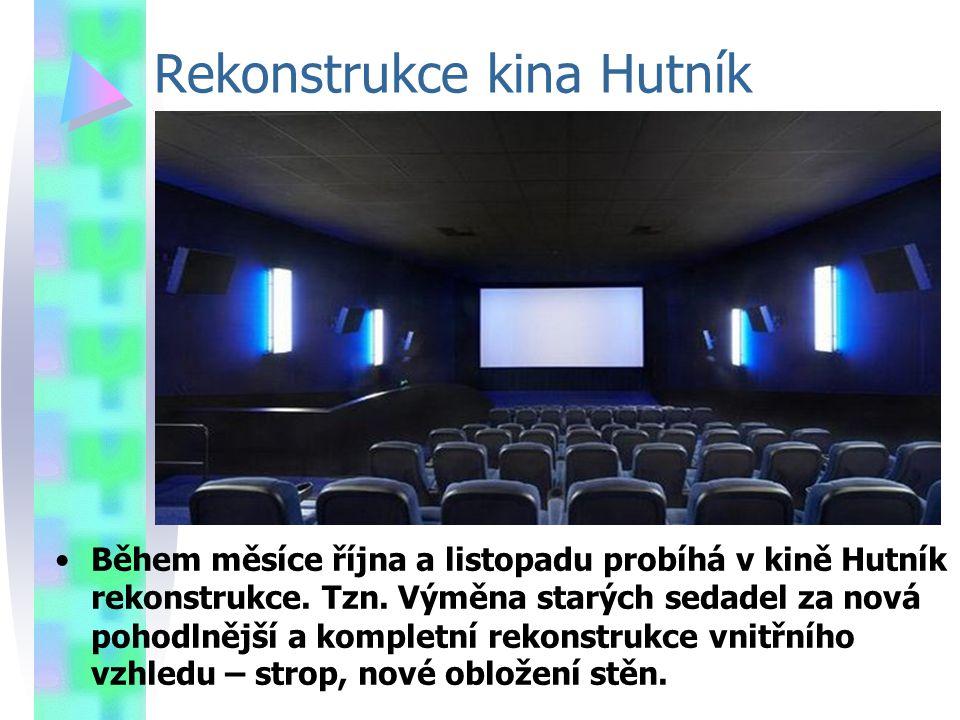 Rekonstrukce kina Hutník