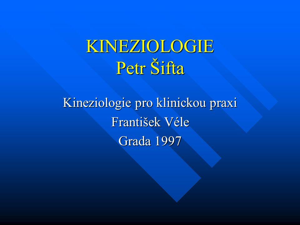 KINEZIOLOGIE Petr Šifta