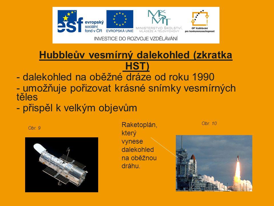 Hubbleův vesmírný dalekohled (zkratka