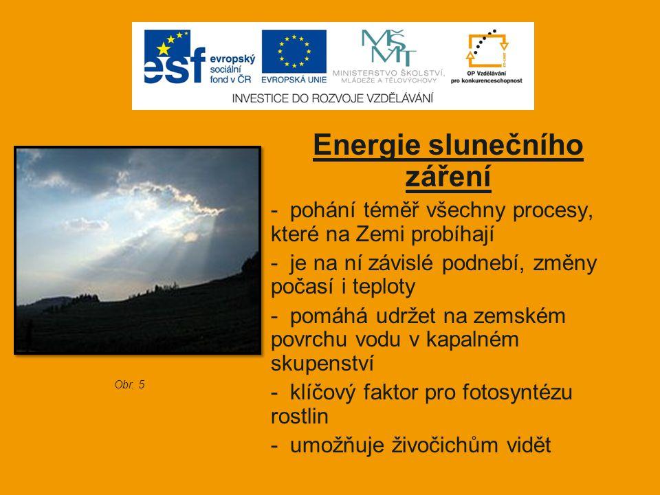 Energie slunečního záření