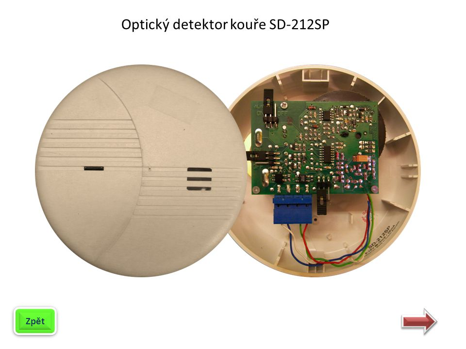 Optický detektor kouře SD-212SP