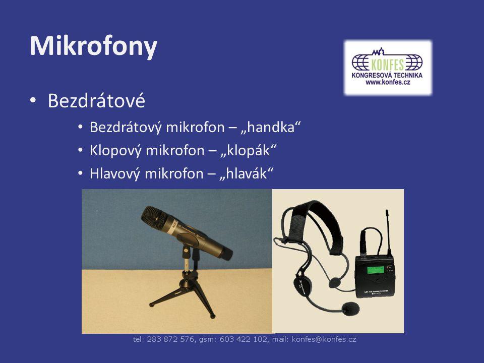 """Mikrofony Bezdrátové Bezdrátový mikrofon – """"handka"""