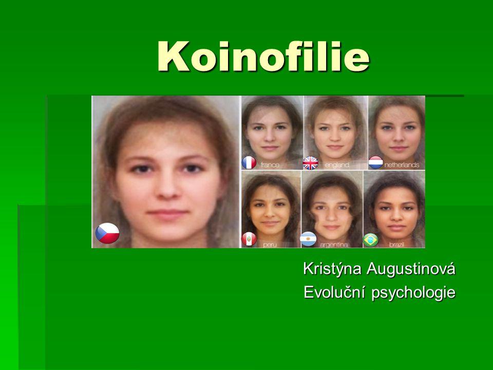 Kristýna Augustinová Evoluční psychologie