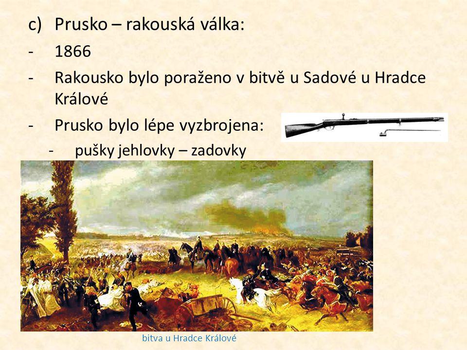 Prusko – rakouská válka: