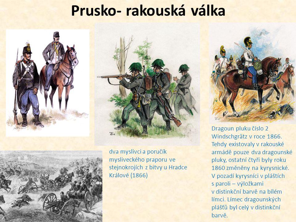 Prusko- rakouská válka
