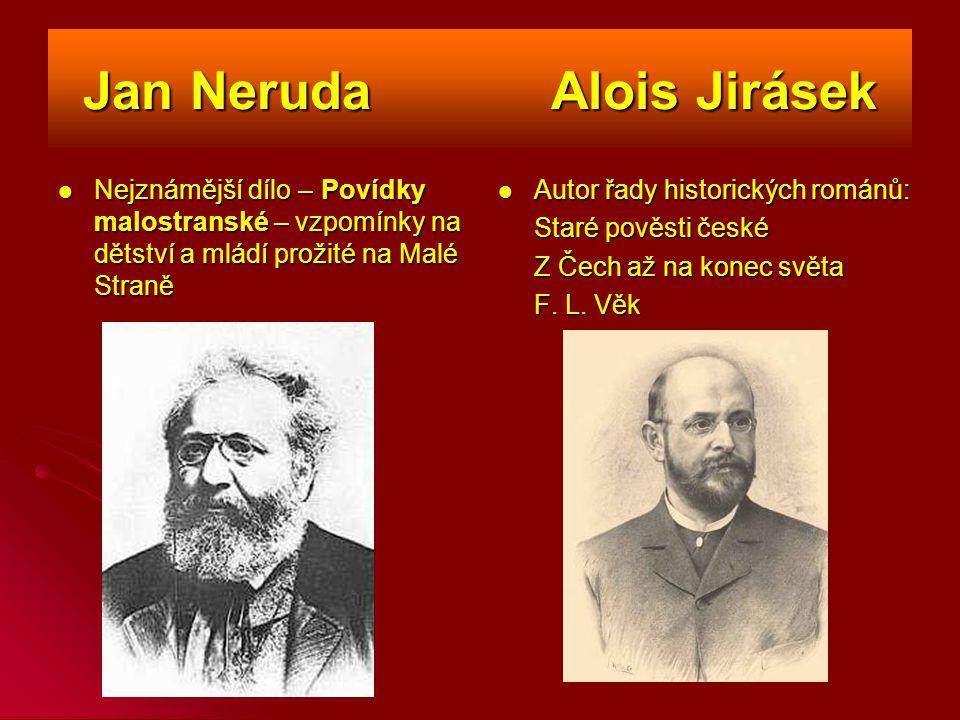Jan Neruda Alois Jirásek