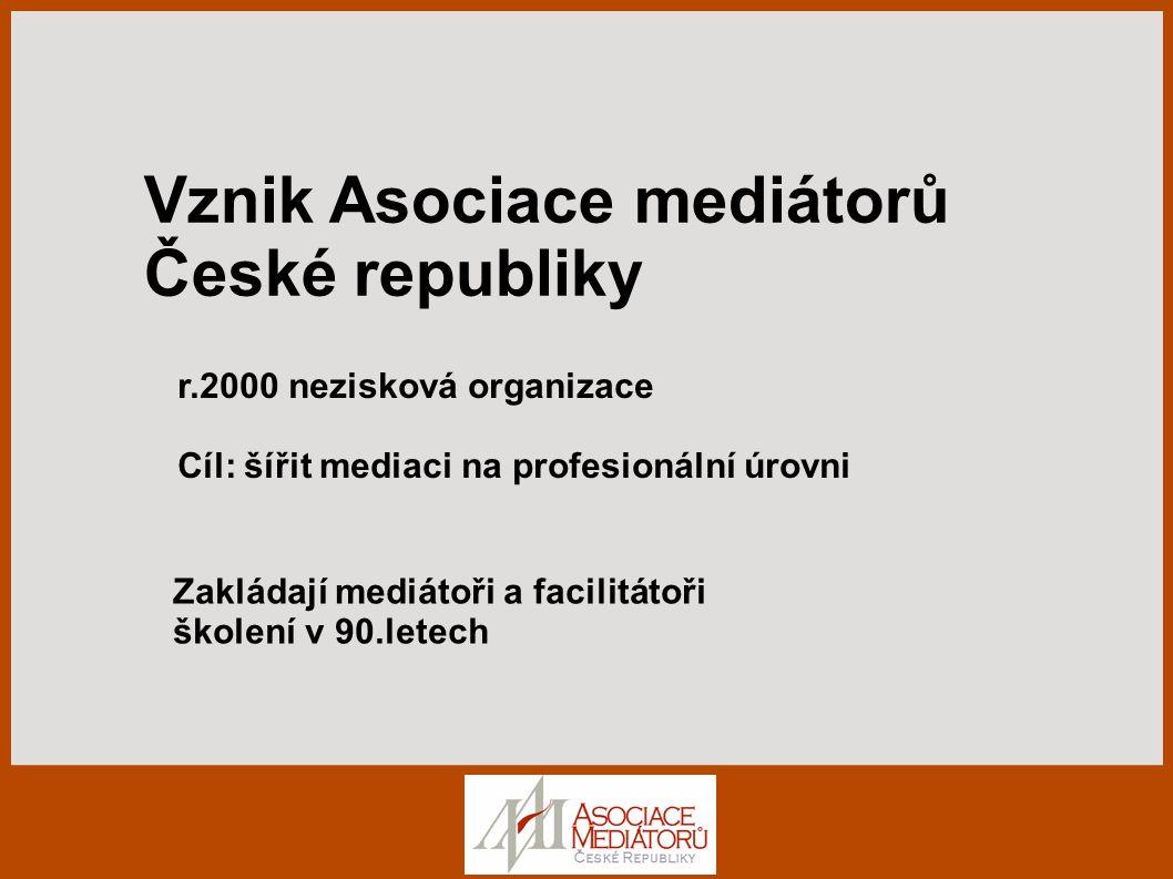 Vznik Asociace mediátorů České republiky