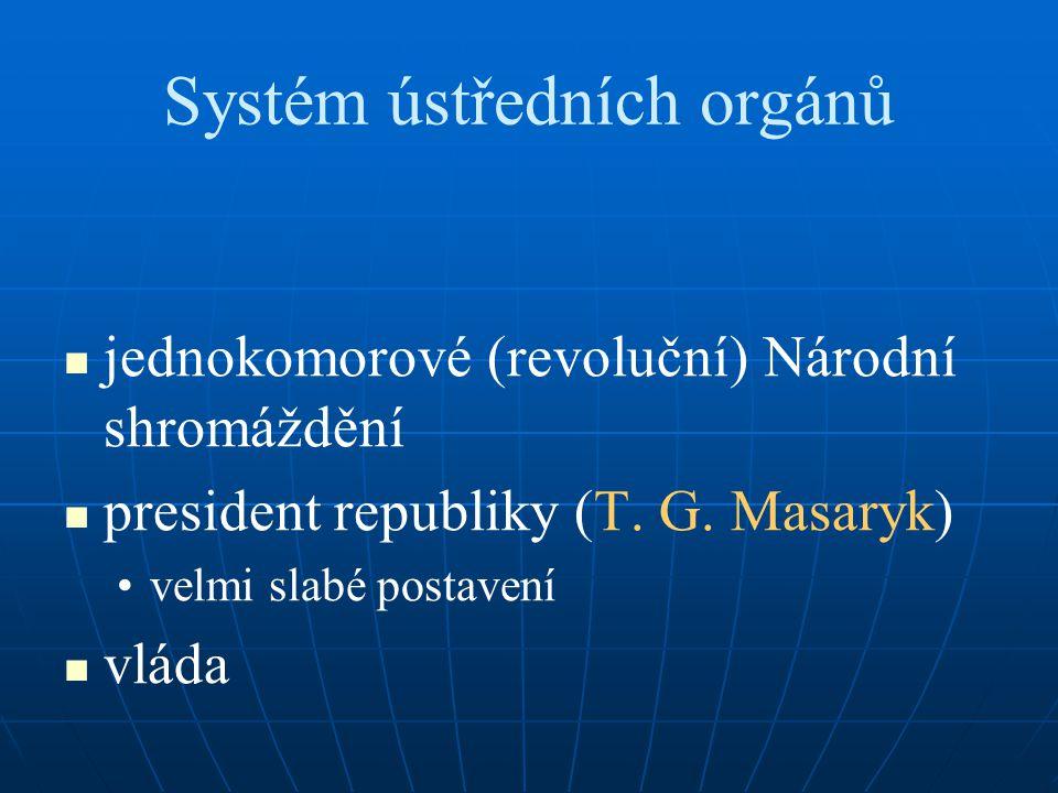 Systém ústředních orgánů