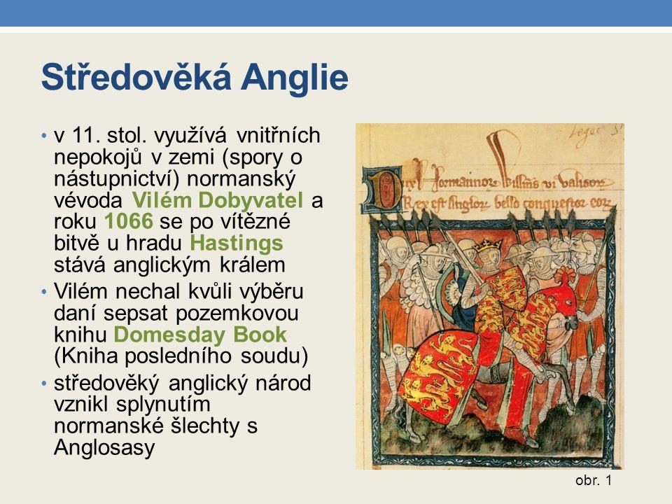 Středověká Anglie