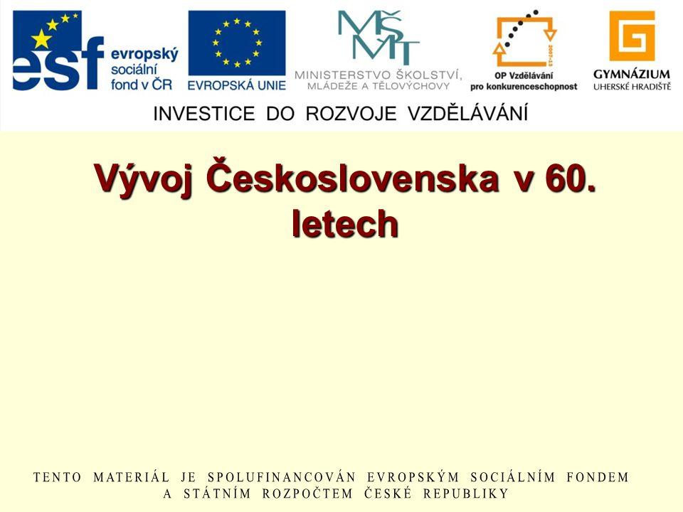 Vývoj Československa v 60. letech