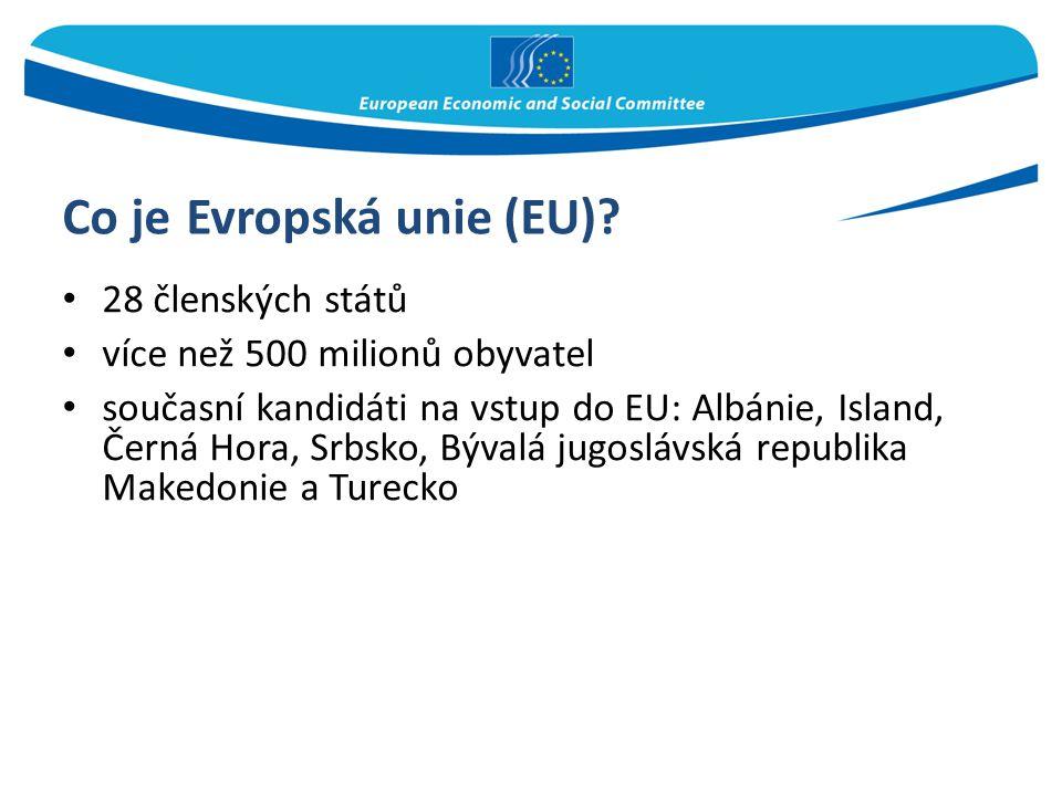 Co je Evropská unie (EU)