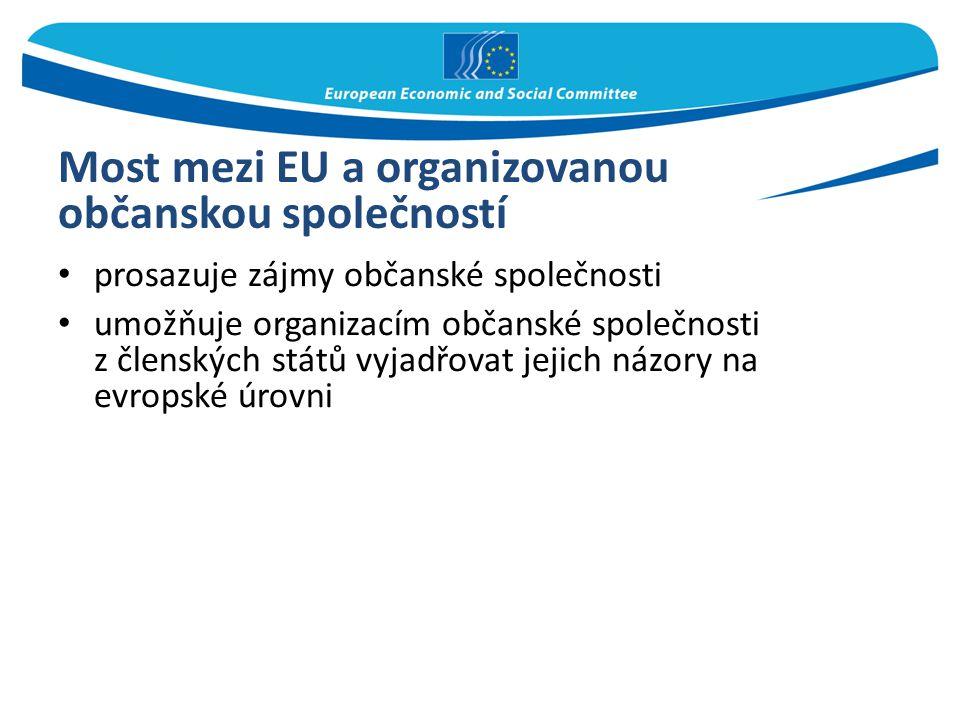 Most mezi EU a organizovanou občanskou společností