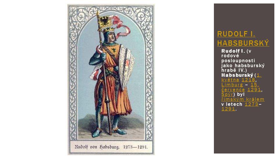 Rudolf I. Habsburský