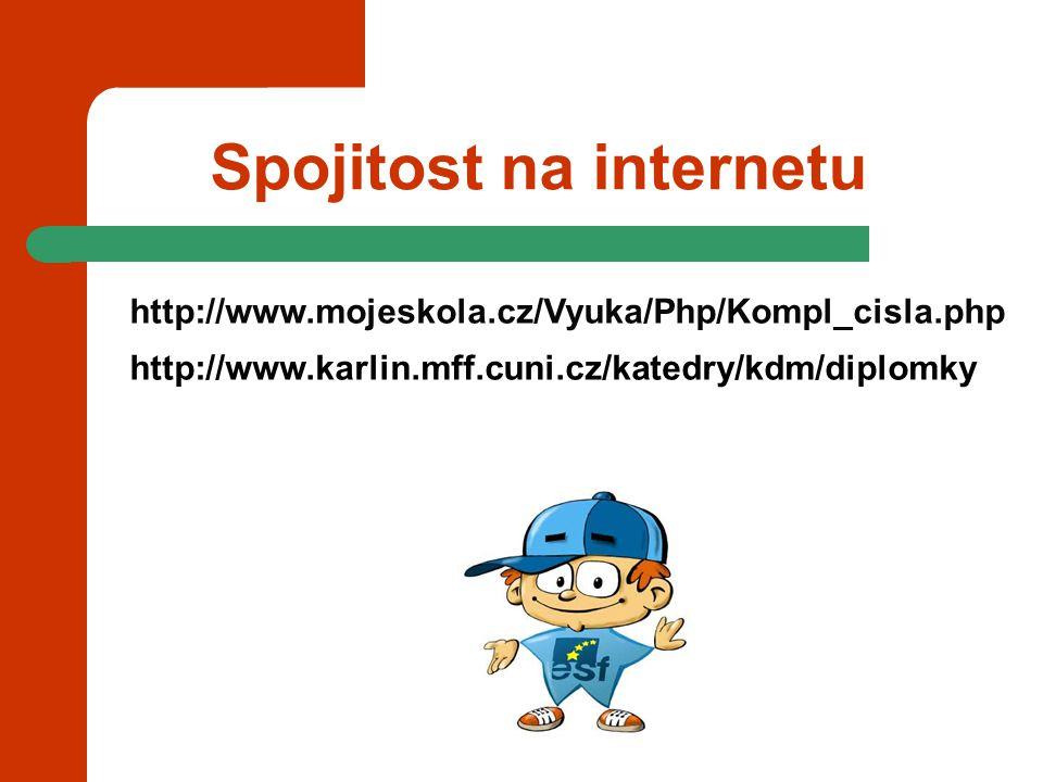 Spojitost na internetu