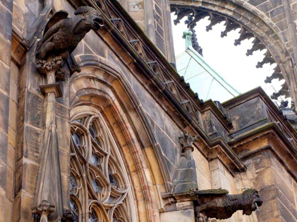 Jeden z architektonických detailů