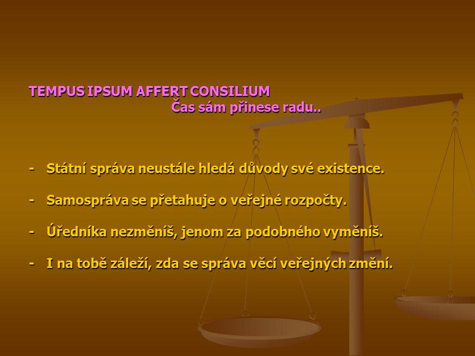 TEMPUS IPSUM AFFERT CONSILIUM