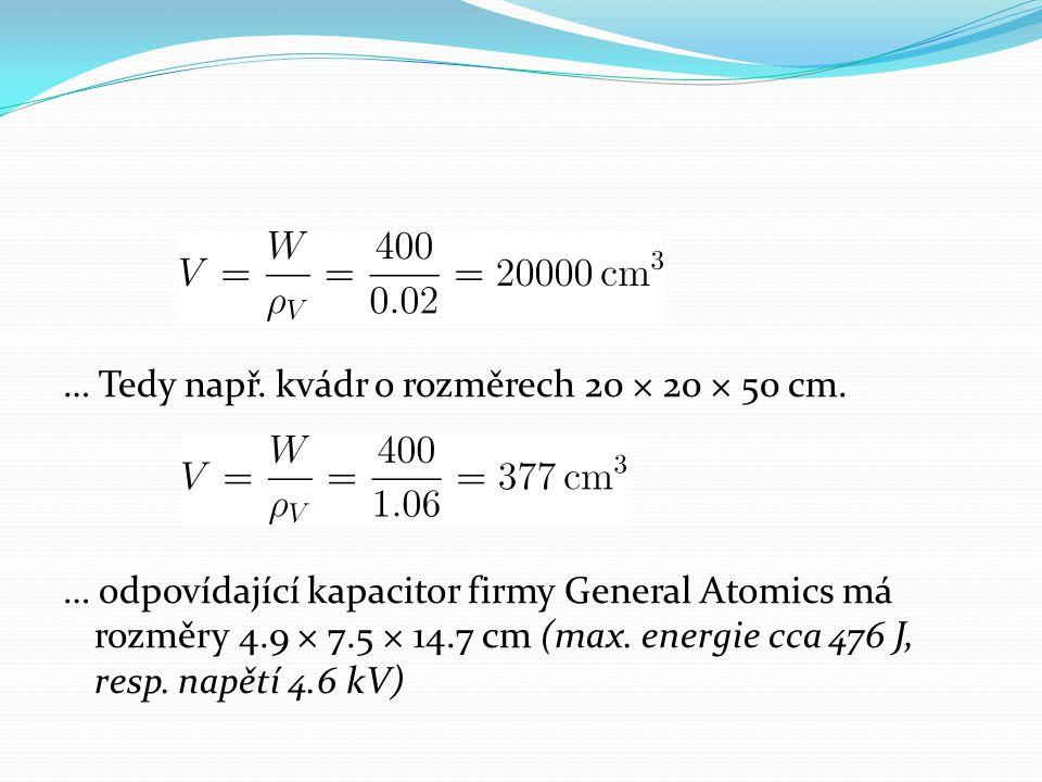 … Tedy např. kvádr o rozměrech 20 × 20 × 50 cm.