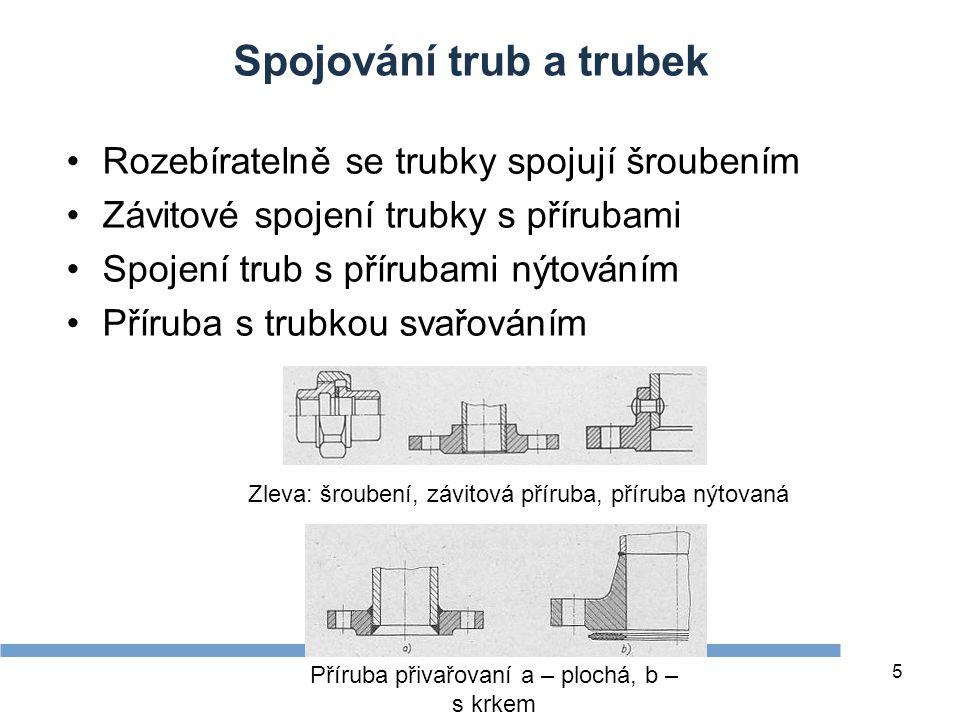 Spojování trub a trubek