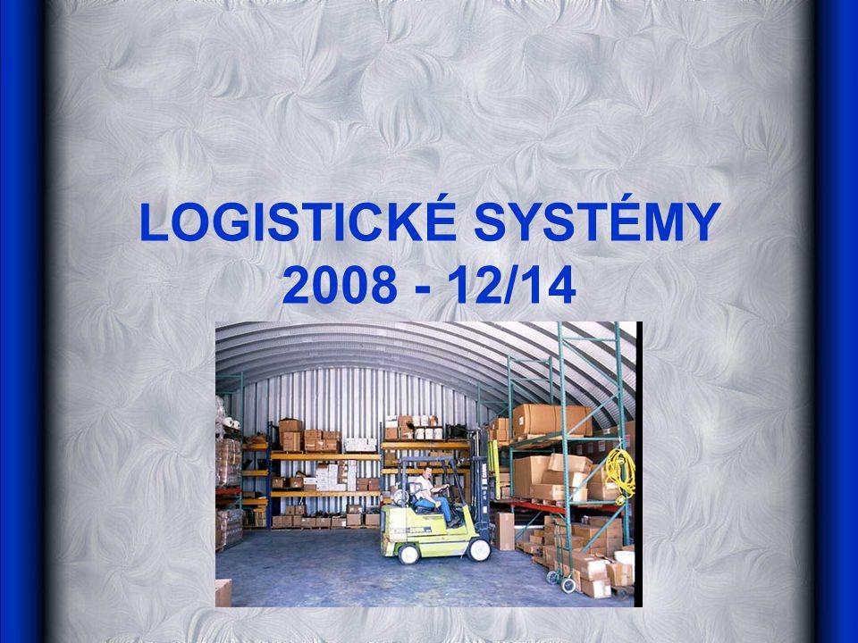 LOGISTICKÉ SYSTÉMY 2008 - 12/14