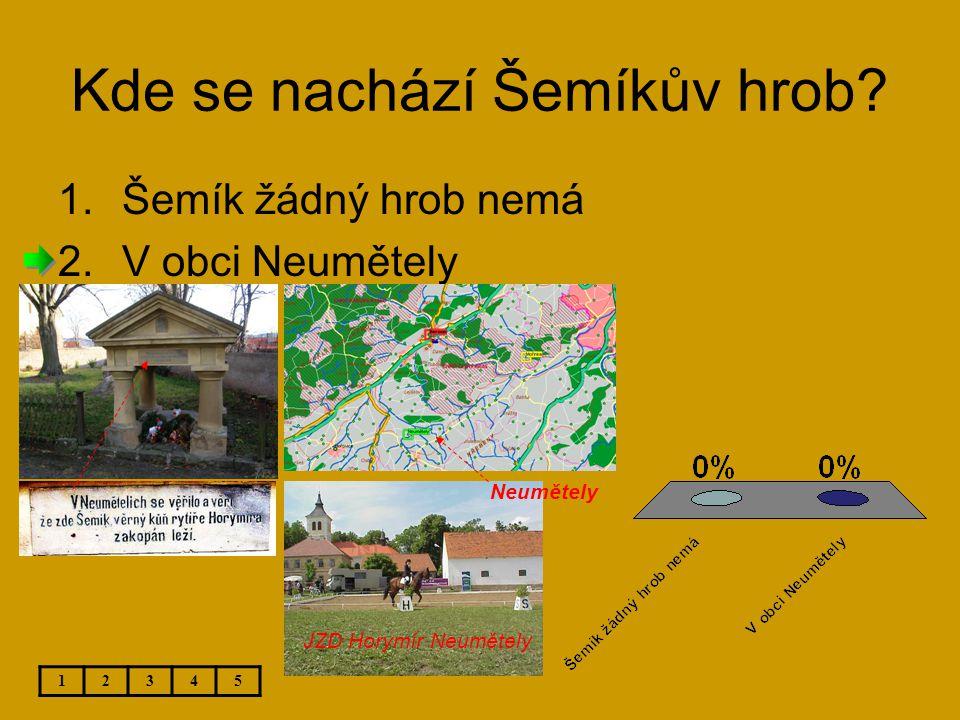 Kde se nachází Šemíkův hrob