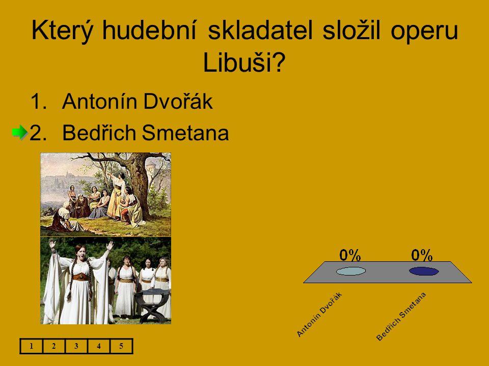 Který hudební skladatel složil operu Libuši