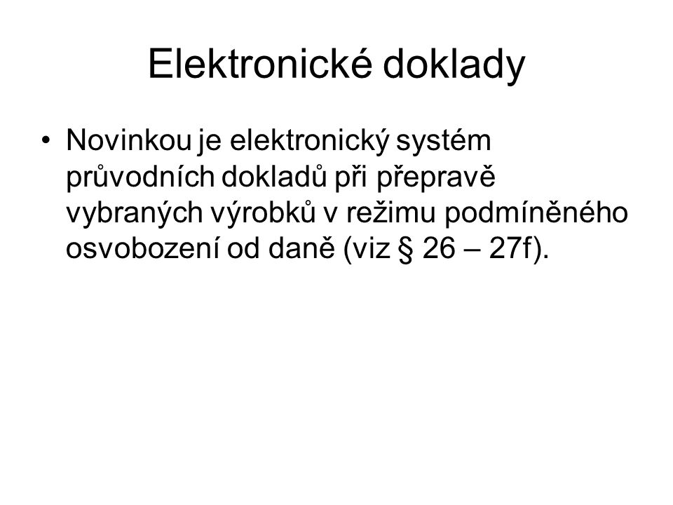 Elektronické doklady