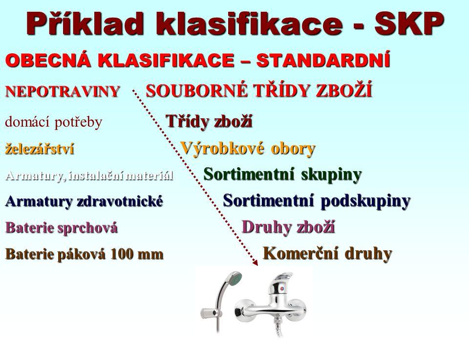 Příklad klasifikace - SKP