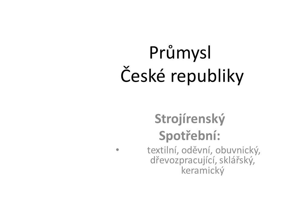 Průmysl České republiky