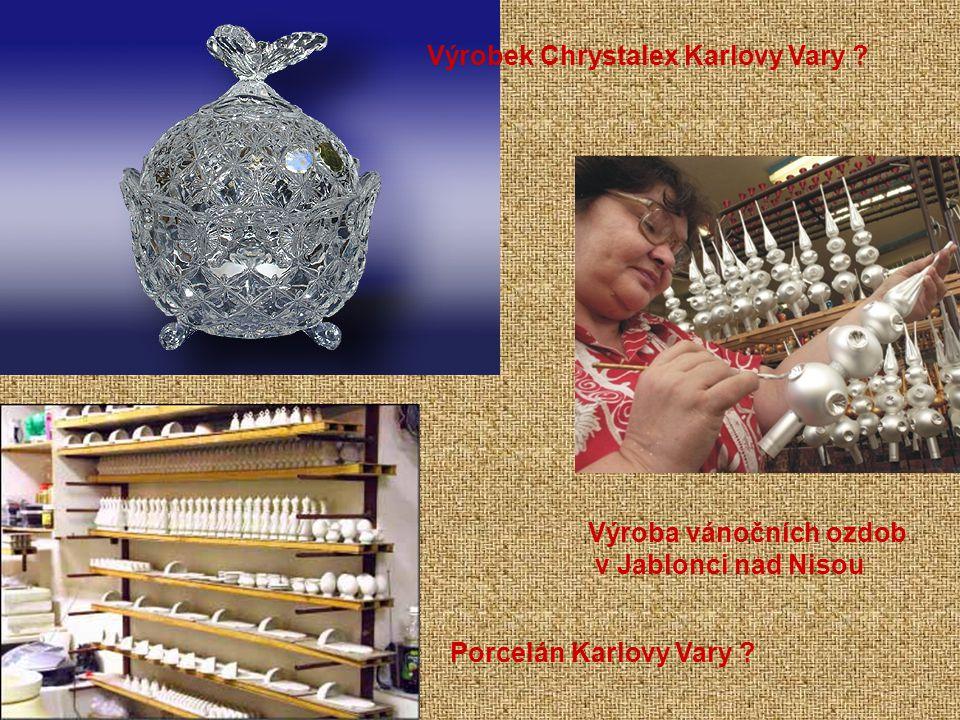 Výrobek Chrystalex Karlovy Vary