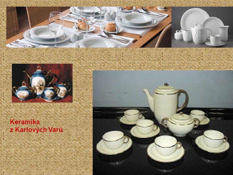 Keramika z Karlových Varů