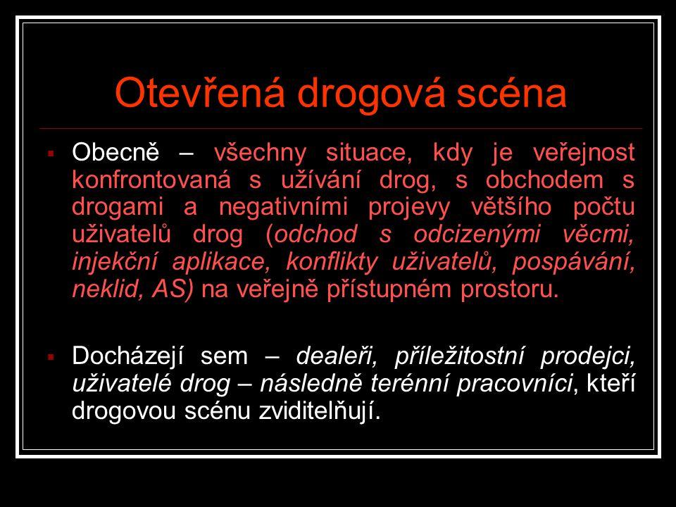 Otevřená drogová scéna