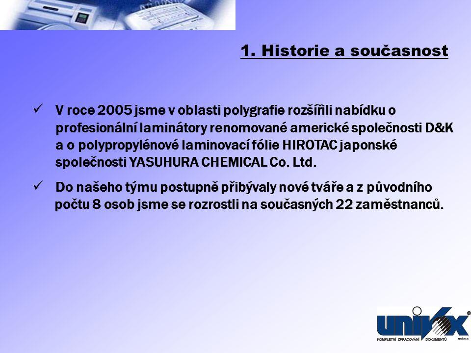 1. Historie a současnost
