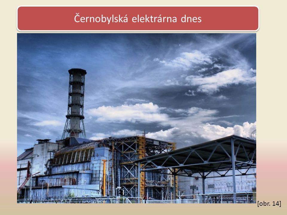 Černobylská elektrárna dnes