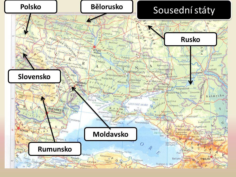 Polsko Bělorusko Sousední státy Rusko Slovensko Moldavsko Rumunsko