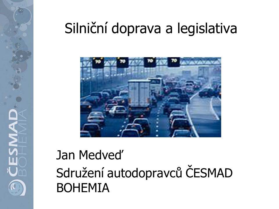 Silniční doprava a legislativa