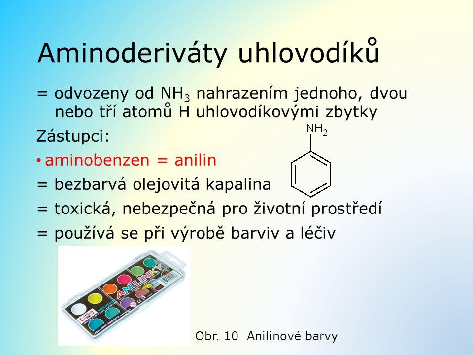 Aminoderiváty uhlovodíků