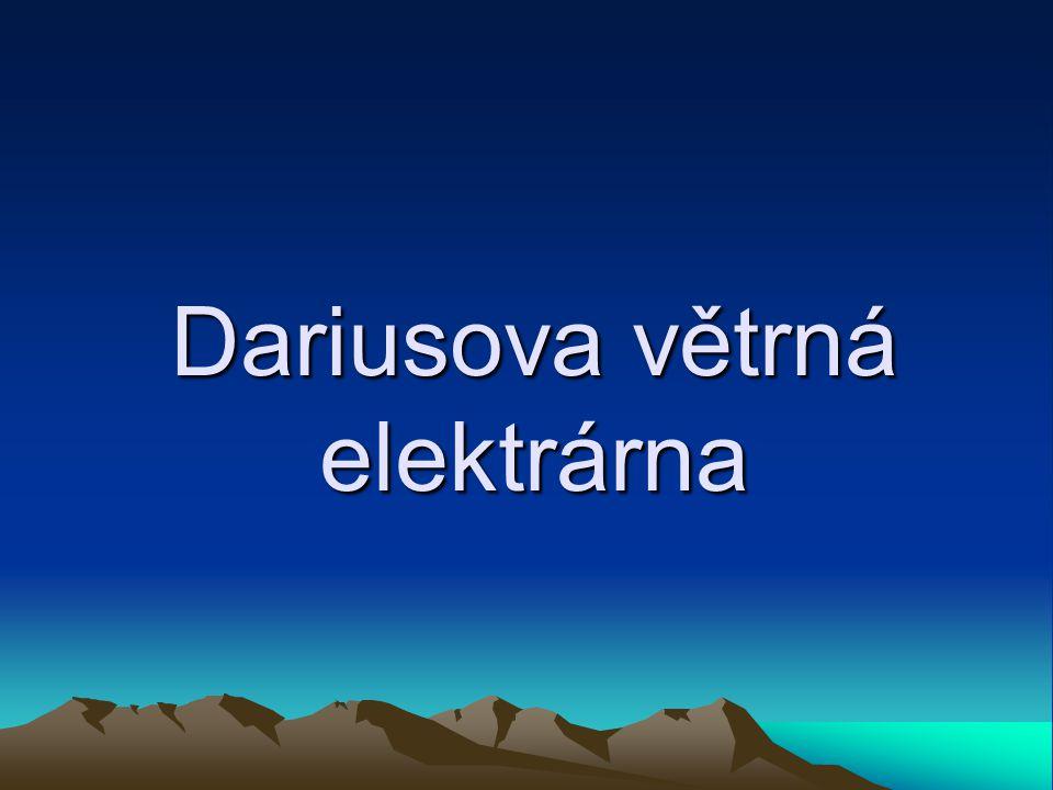 Dariusova větrná elektrárna