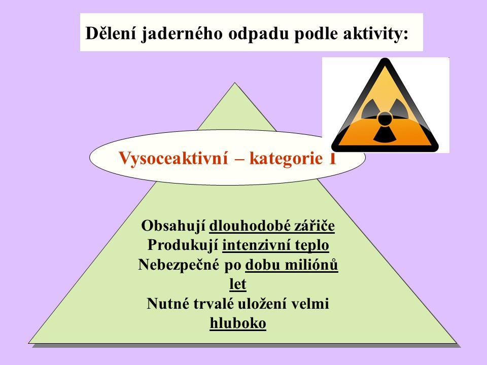 Vysoceaktivní – kategorie I