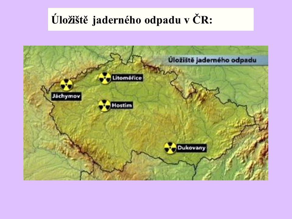 Úložiště jaderného odpadu v ČR: