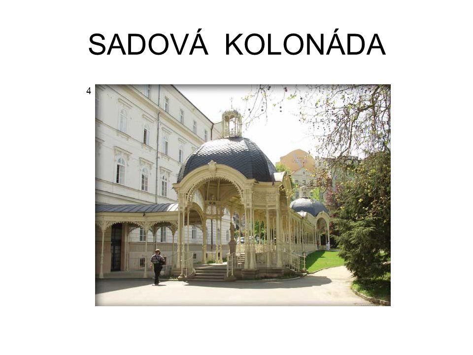 SADOVÁ KOLONÁDA 4