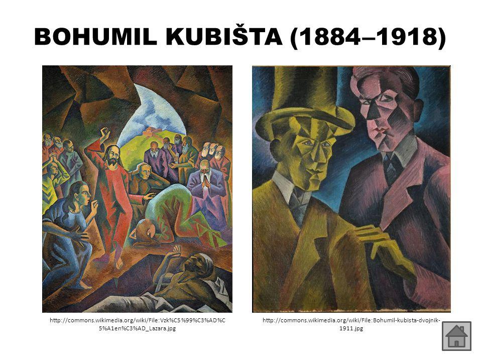 BOHUMIL KUBIŠTA (1884 –1918) http://commons.wikimedia.org/wiki/File:Vzk%C5%99%C3%AD%C5%A1en%C3%AD_Lazara.jpg.