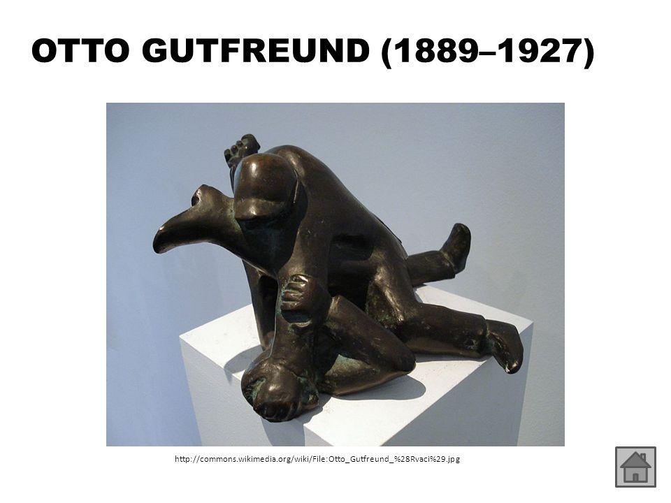 OTTO GUTFREUND (1889–1927) http://commons.wikimedia.org/wiki/File:Otto_Gutfreund_%28Rvaci%29.jpg