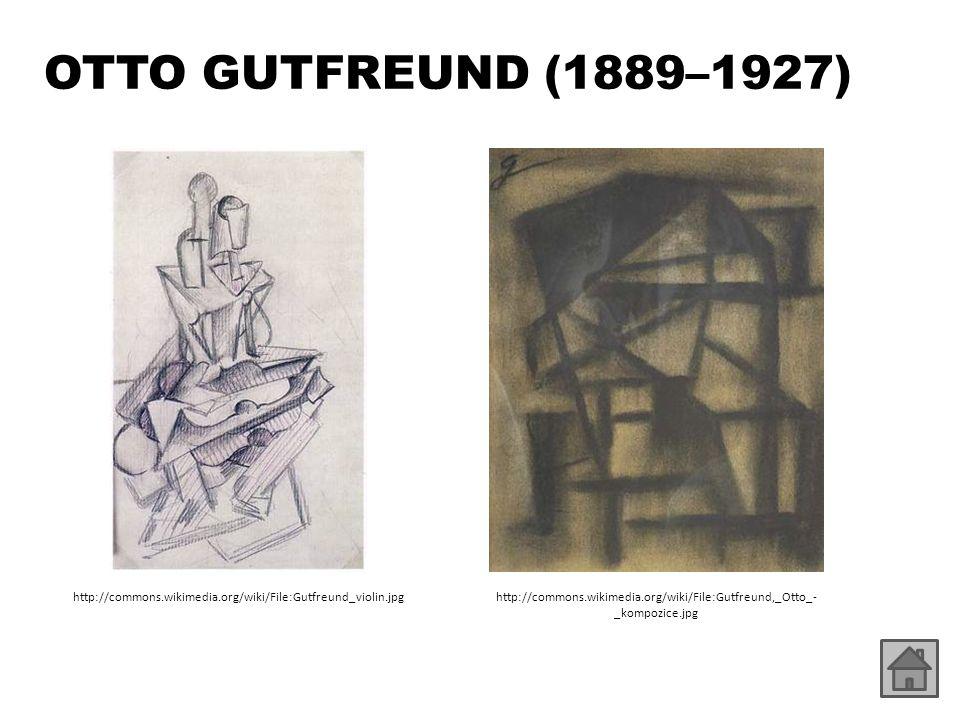 OTTO GUTFREUND (1889–1927) http://commons.wikimedia.org/wiki/File:Gutfreund_violin.jpg.