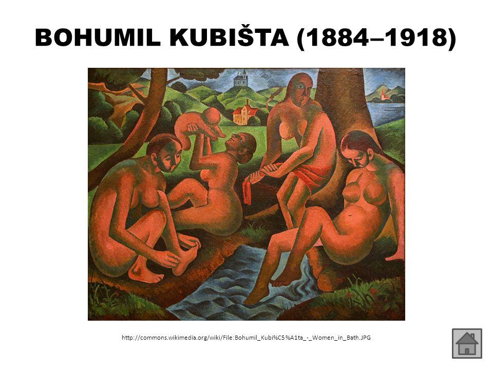 BOHUMIL KUBIŠTA (1884 –1918) http://commons.wikimedia.org/wiki/File:Bohumil_Kubi%C5%A1ta_-_Women_in_Bath.JPG.